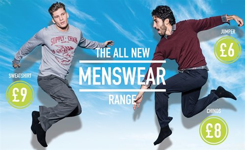 PEP&CO launch menswear range