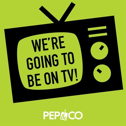 PEP&CO make TV Debut