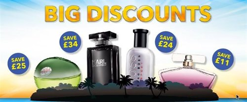 Fragrance Shop Summer Savings