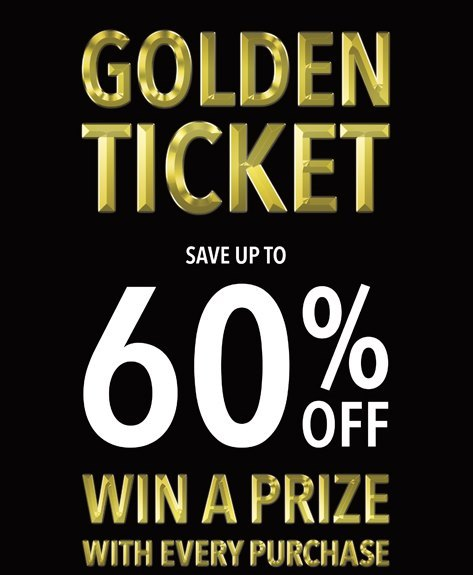 The Fragrance Shop Golden Ticket Giveaway