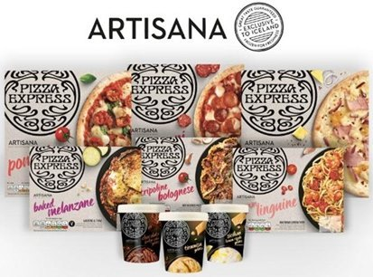 Enjoy Pizza Express' New Artisana Frozen Meals Range at Iceland