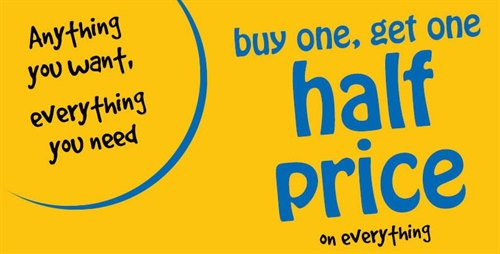 Buy One Get One Half Price on Everything at Holland & Barrett