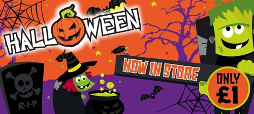 Get Ready for Halloween at Poundworld