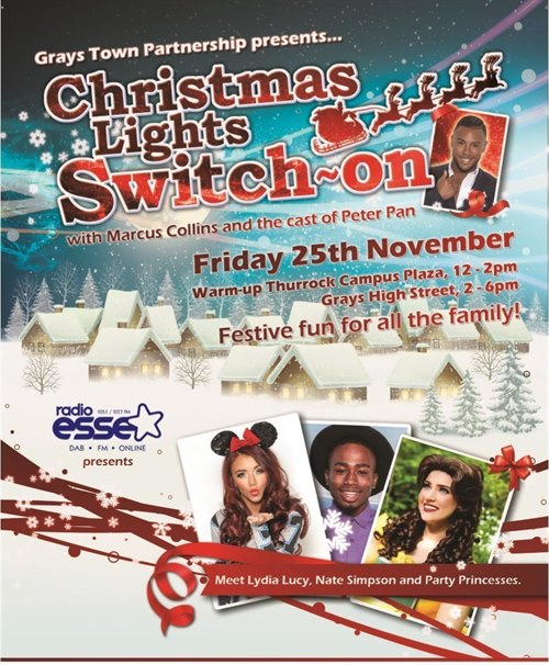 The Grays Light Switch on