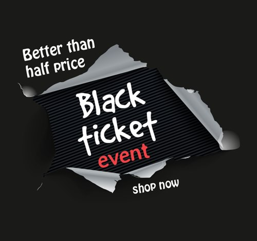 Holland & Barrett's Black Ticket Event