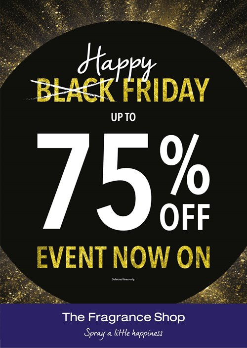 Black Friday at The Fragrance Shop