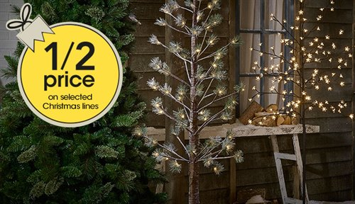 Save Half Price on Selected Christmas Lines