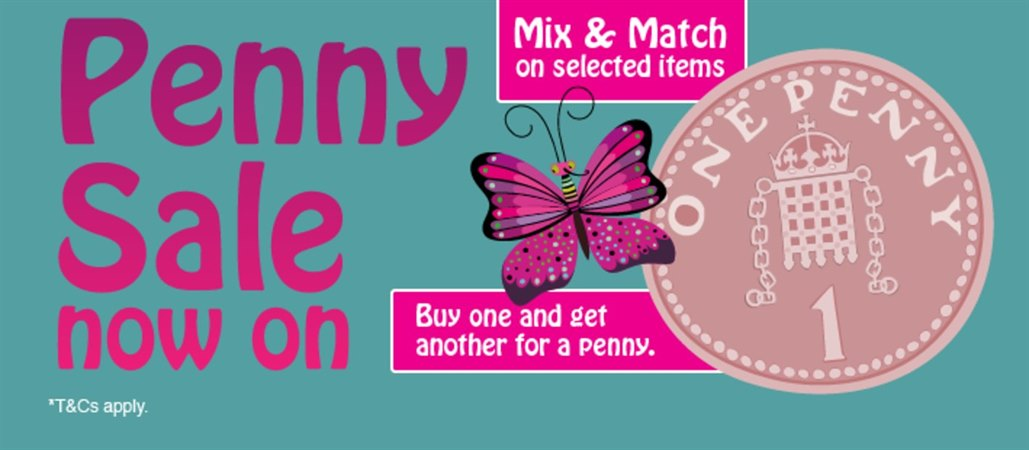 The Penny Sale is now on at Holland & Barrett