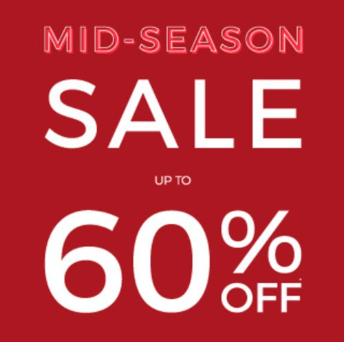 Mid-Season Sale at The Fragrance Shop