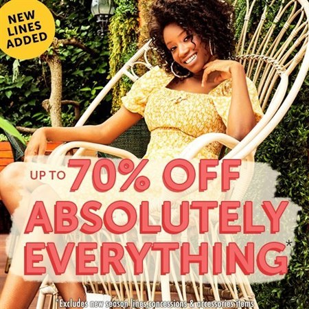 Up to 70% off EVERYTHING at Select