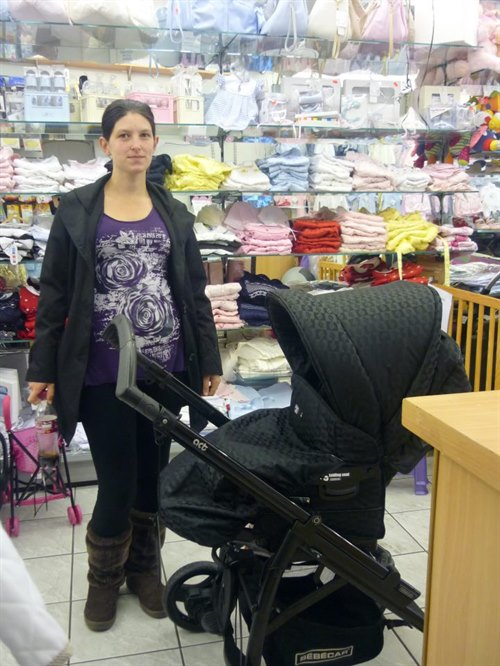Baby Basic Pram Competition Winner