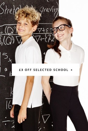 Schoolwear at Peacocks